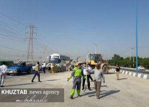 IMG 20191106 135509 512 300x216 بازدید میدانی استاندار خوزستان و شهردار اهواز از پروژه های شهری اهواز