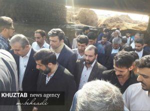 IMG 20191106 135511 205 300x222 بازدید میدانی استاندار خوزستان و شهردار اهواز از پروژه های شهری اهواز