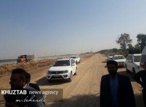 IMG 20191106 135520 733 300x221 بازدید میدانی استاندار خوزستان و شهردار اهواز از پروژه های شهری اهواز