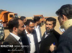 IMG 20191106 135522 565 300x220 بازدید میدانی استاندار خوزستان و شهردار اهواز از پروژه های شهری اهواز