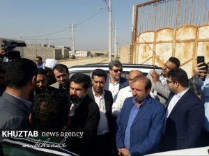 IMG 20191106 135528 625 300x224 بازدید میدانی استاندار خوزستان و شهردار اهواز از پروژه های شهری اهواز