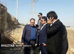 IMG 20191106 194215 227 300x220 بازدید میدانی استاندار خوزستان و شهردار اهواز از پروژه های شهری اهواز