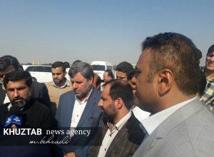 IMG 20191106 194222 256 300x220 بازدید میدانی استاندار خوزستان و شهردار اهواز از پروژه های شهری اهواز